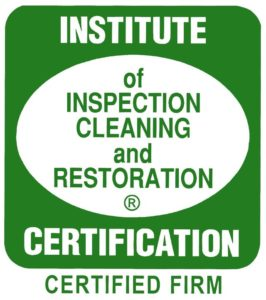 Institute of Inspection Cleaning and Restoration Certified Firm Logo