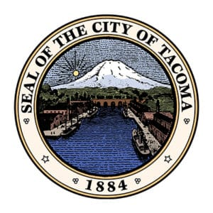 Seal of the City of Tacoma Badge